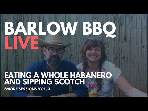 Habanero ALS Pepper Challenge! Barlow BBQ LIVE | Smoke Sessions Vol 3