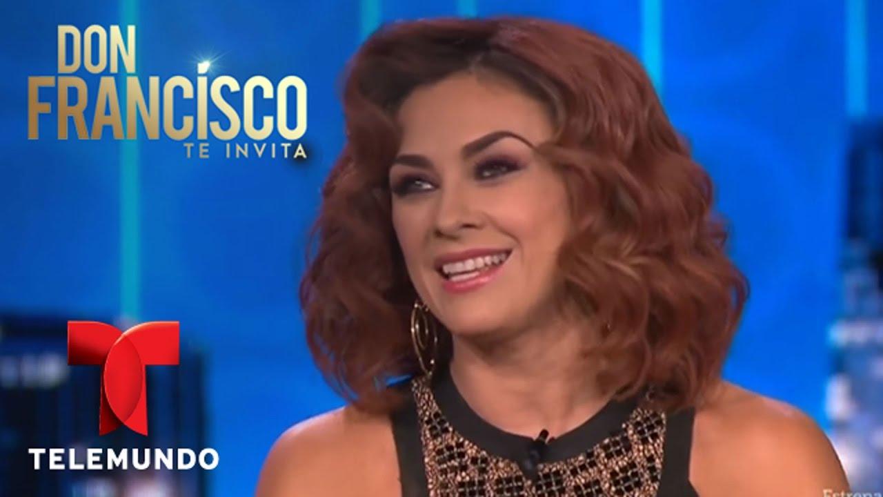 Don Francisco Te Invita | Aracely Arámbula dice que está abierta al amor | Entretenimiento