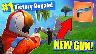 *NEW* LEGENDARY HAND CANNON In Fortnite Battle Royale!