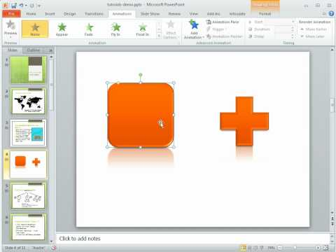 Here's how to save time using the animation painter in PowerPoint 2010