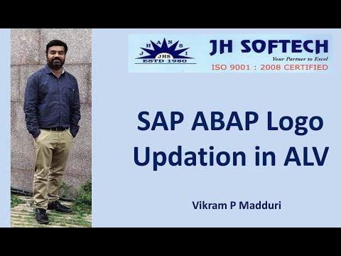 SAP ABAP Logo Updation in ALV