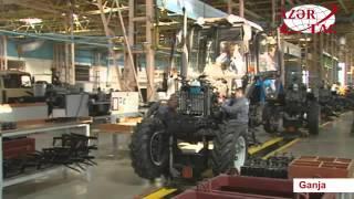 President Ilham Aliyev visited Ganja Automobile Plant