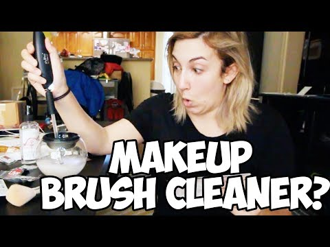 Clean and Dry Makeup Brushes in SECONDS?!?! StylePro Review