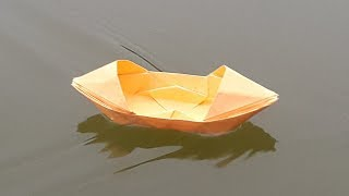 How to make an Origami Boat | STEM Little Explorers | 180x320