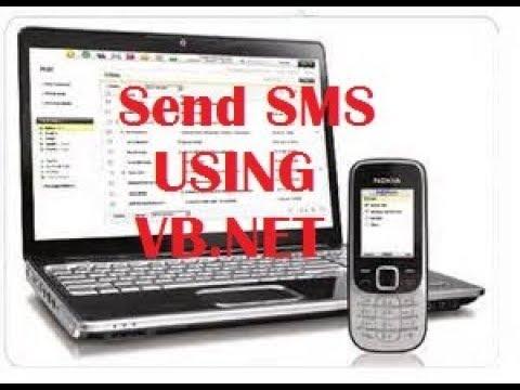 Send SMS Using Vb.net Forms Step By Step