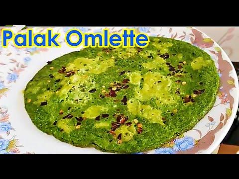 Veeramachaneni Ramakrishna Sir Food Diet Palak Cheese Omelette Cooking Recipe | VRK Diet Program