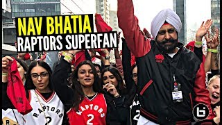 This Raptors Superfan Has The Edge On Drake! All Access w/ Nav Bhatia Who's Never Missed A Game!