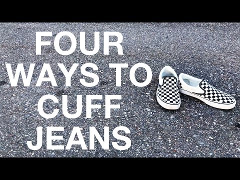 How To Cuff Men's Jeans: Four Ways.