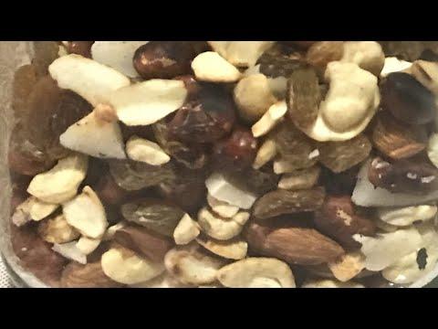 Healthy Trail Mix Recipe/ Healthy Road Trip Snack