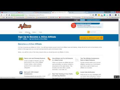 How To Sign Up in JVZoo Affiliate Program and Start Promote JVZoo Offers