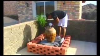 احمد العزاني كيف تصنع نافورة في اقل من ساعة. Ahmed alazzani how to make easy fountain