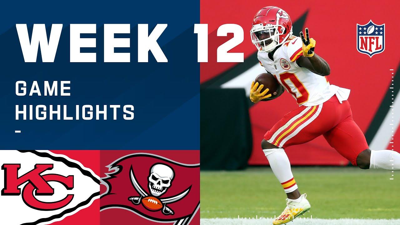 Chiefs vs. Buccaneers Week 12 Highlights | NFL 2020