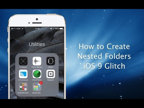 How to create nested folders on your iPhone or iPad in iOS 9 - iPhone Hacks