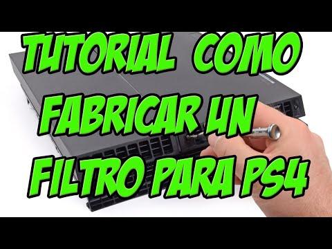 TUTORIAL COMO HACER UN FILTRO DE AIRE PARA LA PS4-  MANTENIMIENTO PS4