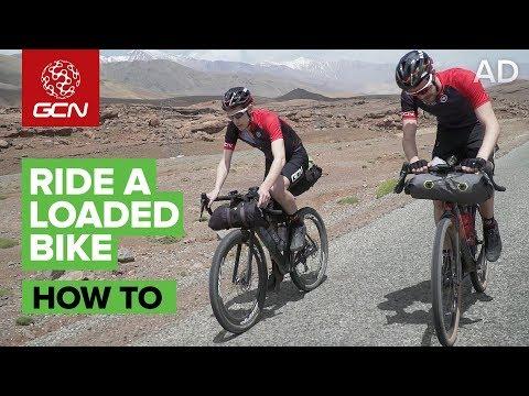 How To Ride A Loaded Bike | GCN Goes Bikepacking