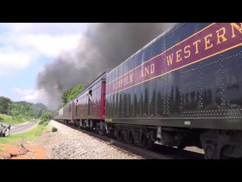 Norfolk & Western 611: The Trek to Front Royal