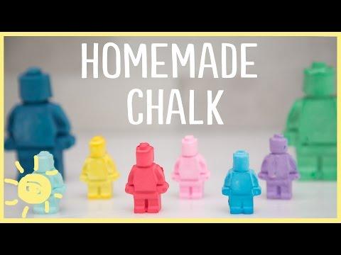 DIY | How to Make Lego Sidewalk Chalk (Only 3 Ingredients!)
