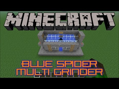 Blue Spider Multi Grinder Tutorial