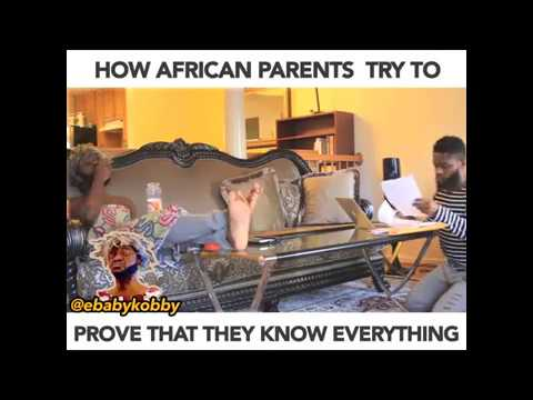 Ebaby Kobby - How African Parents Try to Prove They Know Everything Cover