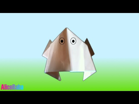 How to make Origami : Frog