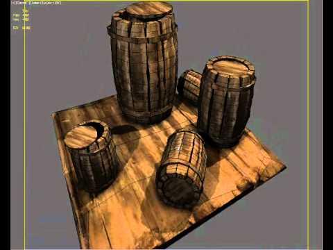 barrel 3dsmax