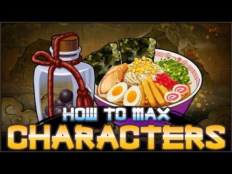 How to MAX Level Characters FAST! | NARUTO Ultimate Ninja BLAZING