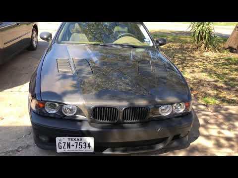 E39 BMW 540 - Paint Update