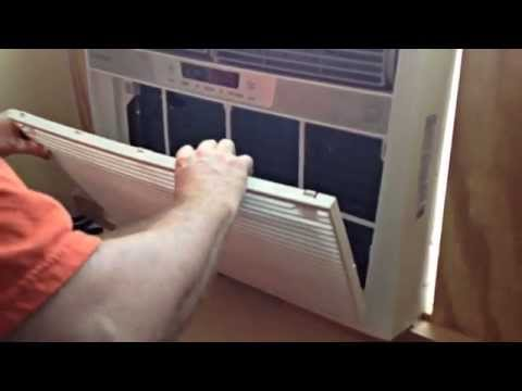 DIY Awning Window Air Condition Installation