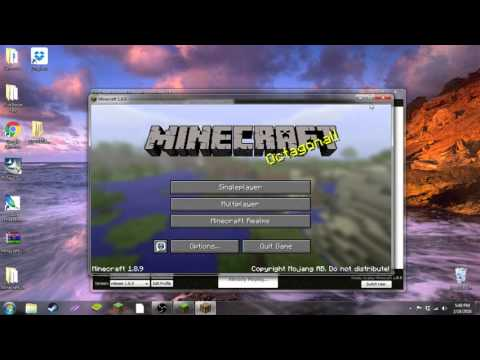 How To Change Your Skin In Cosmic Craft Server | Minecraft 1.8.x