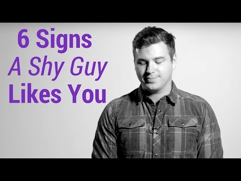 6 Signs a Shy Guy Likes You
