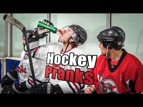 Hockey Pranks and Jokes