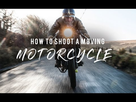 EP3: BTS SHOOT (HOW TO PHOTOGRAPH A MOVING MOTORCYCLE).
