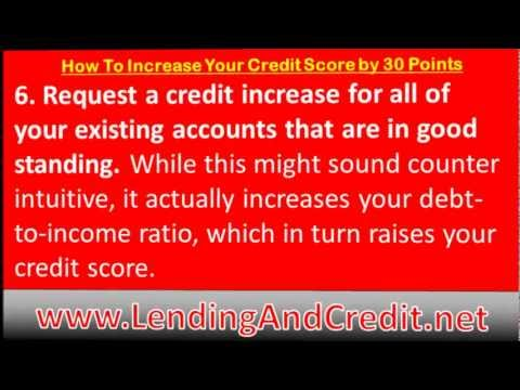 How to Increase Your Credit Score by 30 Points | 8 Tips to Raise Your Credit Score By 30 Points