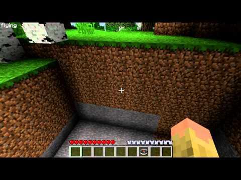 Minecraft Tutorials: World Edit (clearing Land)