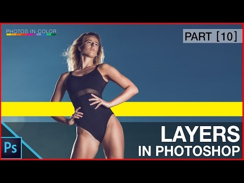 Photoshop Tutorial - Photoshop Layers and Layer Masks for beginners