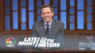 Late Night Bloopers - Late Night with Seth Meyers