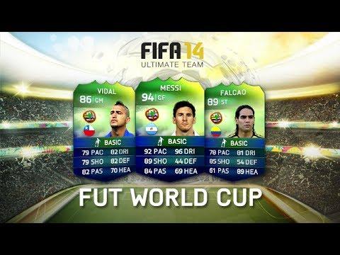 FIFA 14 Ultimate Team World Cup - ITALIANO