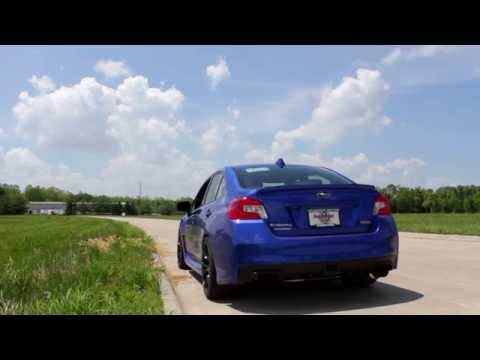 SubiSpeed - 2015 WRX and STI Invidia N1 Racing Exhaust  - Drive By and Revs