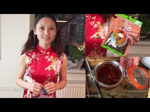 Chili oil chili sauce red oil authentic Sichuan/ Szechuan food recipe #1 四川辣红油