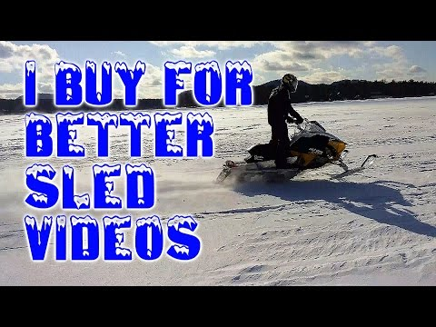 New Buys to Make Better Snowmobiling Videos