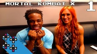 Becky Lynch & Mortal Kombat X Part 1: Becky