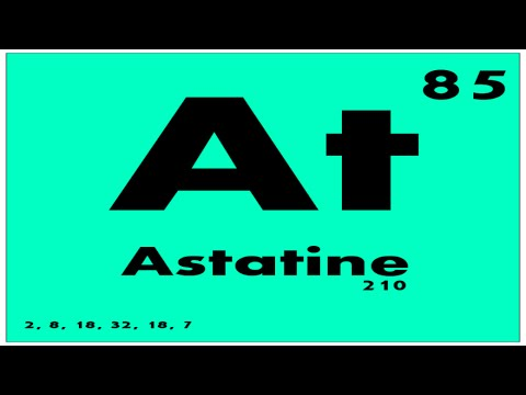 STUDY GUIDE: 85 Astatine | Periodic Table of Elements