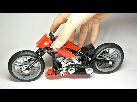 How to Build the Lego Technic Chopper
