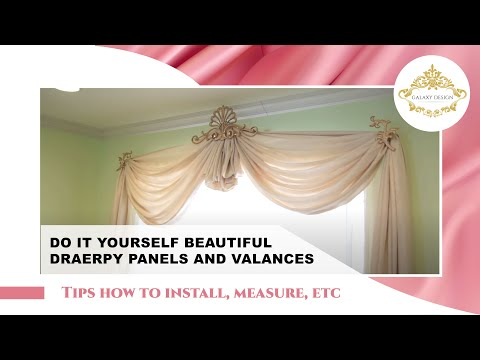 Modern Window Curtains | Drapes | Galaxy-Design Video #78