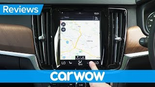 Volvo V90 2018 Estate infotainment and interior review | Mat Watson Reviews
