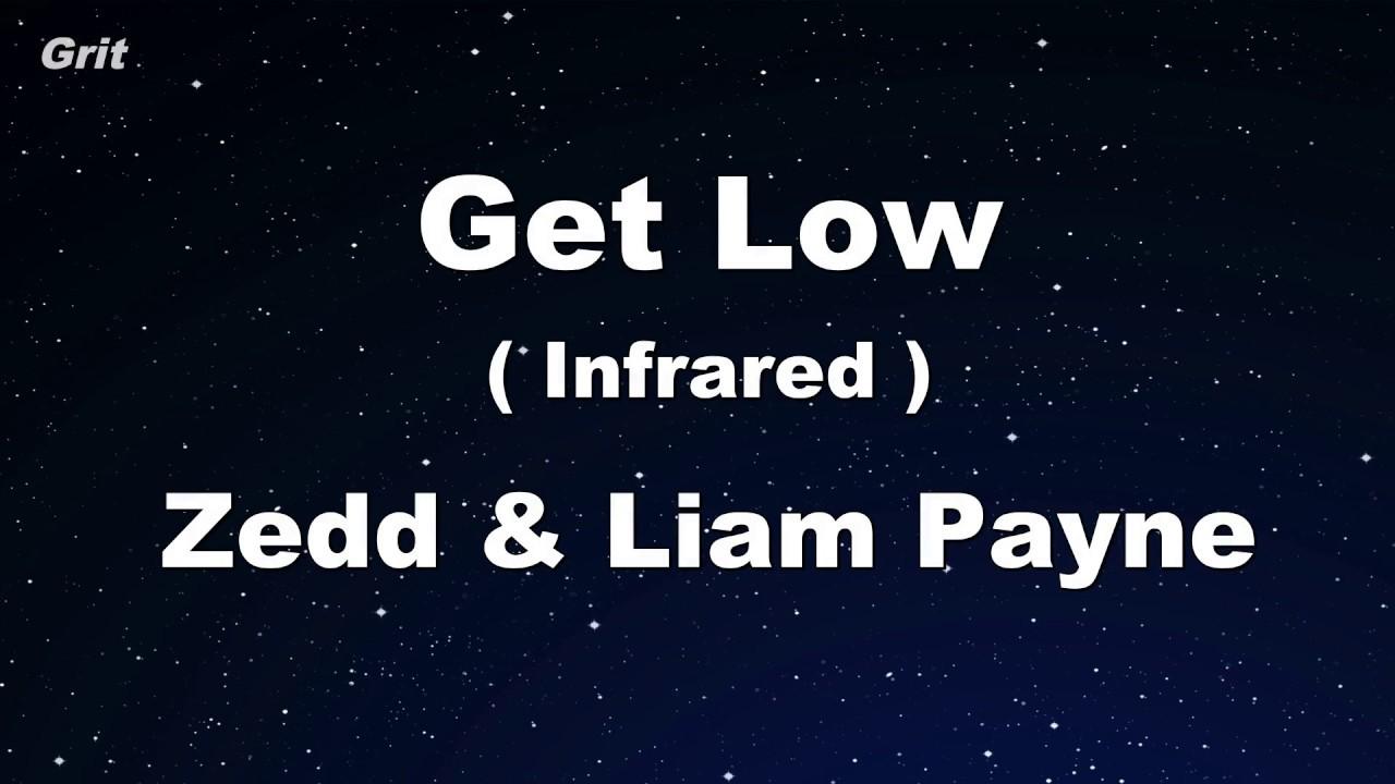 EdKara - Get Low (Originally Performed by Zedd, Liam Payne) [Karaoke No Guide Melody Version]