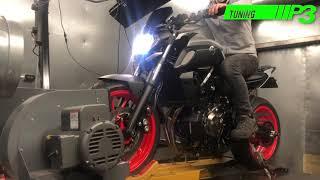 Suzuki GSXR1000 2018 Full Custom ECU Mapping Dyno run using Woolich
