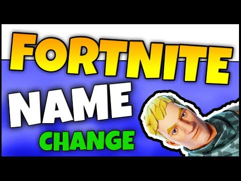HOW TO CHANGE YOUR FORTNITE NAME | Change Username / Display Name (EASY Tutorial)