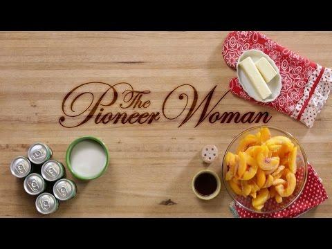 Peach Dumplings by The Pioneer Woman