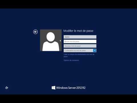 Windows Server 2012 - Password Change from RDP
